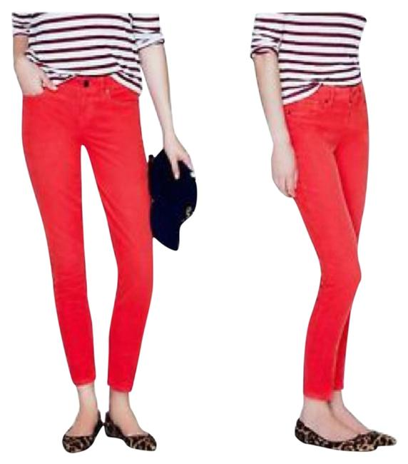 Item - Red Garment Skinny Jeans Size 27 (4, S)