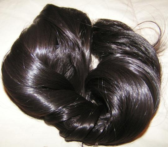 Natural Black Bogo Free Full Head Extension Free Shipping Hair Accessories