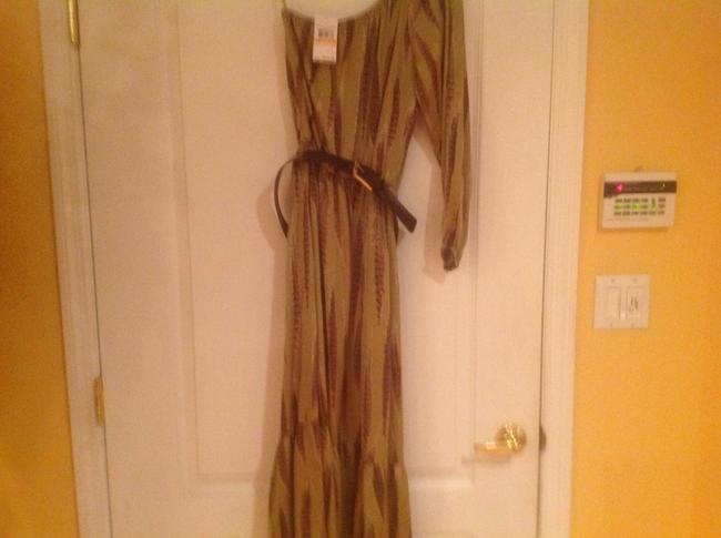 One Shoulder Mid Length Maxi Dress by Michael by Michael Kors