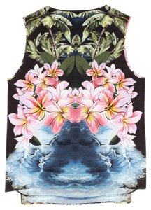 Stella McCartney Hawaiian Tropical Runway Resort Floral Top Multicolor