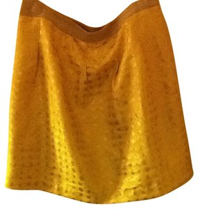 Ann Taylor LOFT Skirt Yellow
