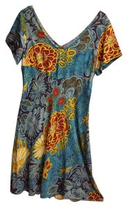 Jams World short dress Multi tropical print on Tradesy