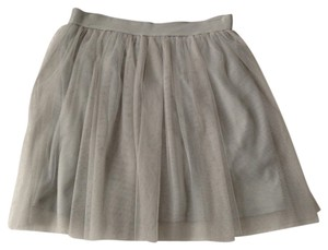 LC Lauren Conrad Mini Skirt grey