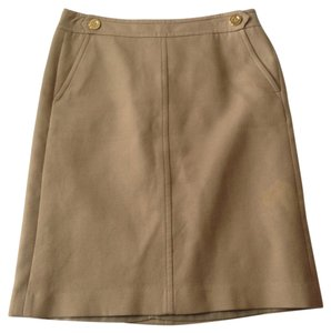 Talbots Skirt Tan