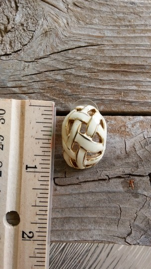 Other Basket Weave Earrings Image 2