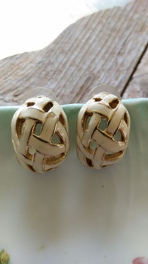 Other Basket Weave Earrings Image 5