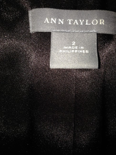 Ann Taylor Hand-stitched Lapels Buttons On Sleeves Like New Brown Blazer
