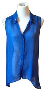 ijeans by buffalo Top Cobalt Blue