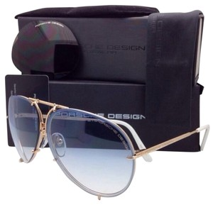 2ea21fed3b8 PORSCHE DESIGN New PORSCHE DESIGN Titanium Aviator Sunglasses P 8478 W  69-10 Gold
