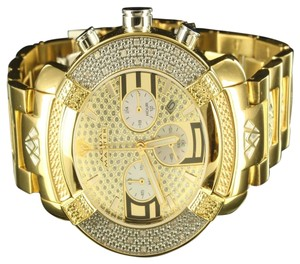 Aqua Master Diamond Watch 14k Yellow Gold Finish Dial Men Father Day Giftjojo