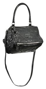 Givenchy Pandora Pepe Washed Leather Silver Shoulder New Cross Body Bag