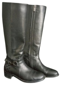 Aquatalia by Marvin K. Leather Black Boots