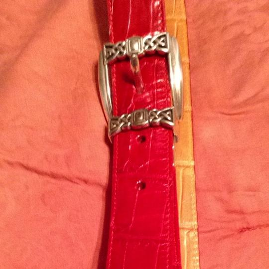 Other Red Belt W/silver Buckle