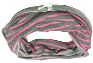 Gap on Sale, New GAP Grey pink Stripe Infinity Scarf, Price Reduction