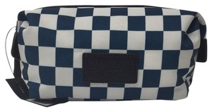 Marc by Marc Jacobs Marc By Marc Jacobs Domo Arigato Checkerboard Landscape Cosmetic Toilet Pouch Bag