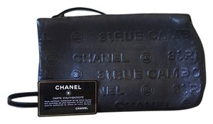 Chanel Embossed Leather Cambon Shoulder Bag