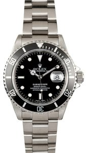 Rolex Rolex Submariner Stainless Steel Watch 16610