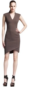Helmut Lang short dress Grey on Tradesy