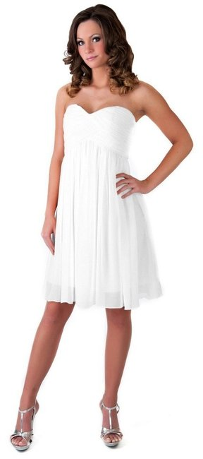 Preload https://img-static.tradesy.com/item/123946/ivory-strapless-sweetheart-pleated-bust-chiffon-knee-length-short-casual-dress-size-6-s-0-0-650-650.jpg