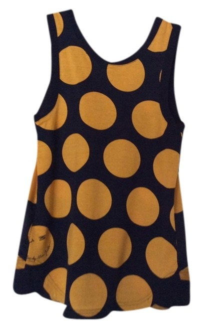 Marc by Marc Jacobs Top Blue with orang dots