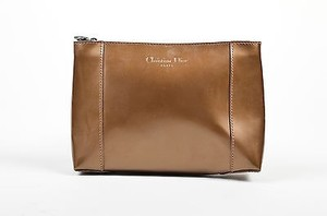 Dior Christian Patent Brown Clutch