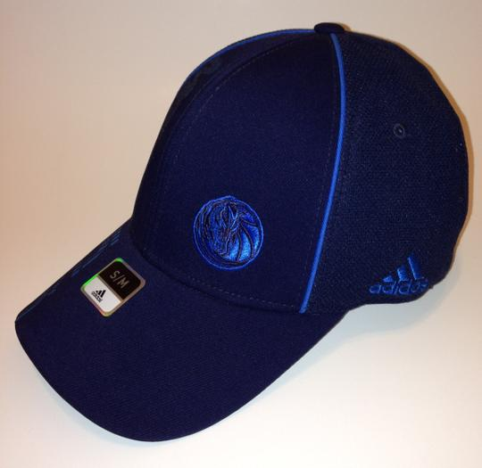 adidas adidas Dallas Mavericks Structured Flex Hat S/M Navy Blue