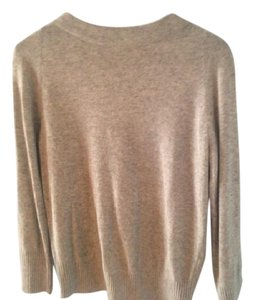 Diane von Furstenberg Cashmere Blend Back Zipper Sweater