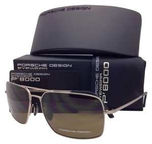 PORSCHE DESIGN New PORSCHE DESIGN Sunglasses P'8548 B 62-15 Gold & Black Frames w/ Brown Lenses