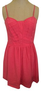 BCBGeneration short dress Coral on Tradesy