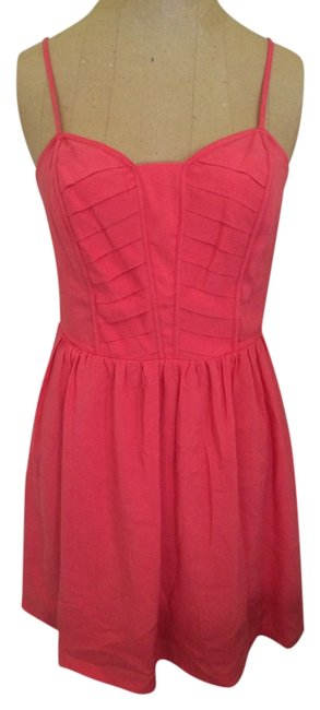 Preload https://item2.tradesy.com/images/bcbgeneration-coral-above-knee-short-casual-dress-size-0-xs-1239636-0-0.jpg?width=400&height=650
