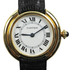 Cartier Cartier Round Vendome Solid 18k gold ladies watch