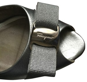 Salvatore Ferragamo Silver Formal