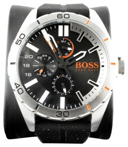 Hugo Boss Berlin Chronograph Silicone Strap Watch