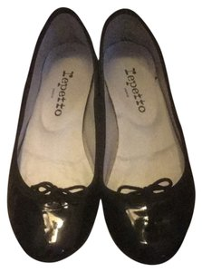 Repetto Blk Flats