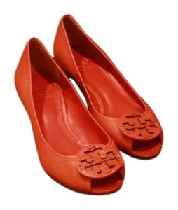 d25d69f3f34d Orange Tory Burch Wedges - Up to 90% off at Tradesy