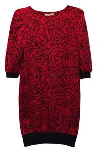 Especially Yours New York short dress Red and black on Tradesy