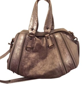 Botkier Handbag Argento Zip Lambskin Cross Body Bag