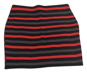 Rachel Roy Skirt Red & Black