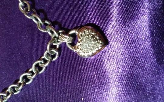 Other Sterling Silver Heart Necklace. Image 2