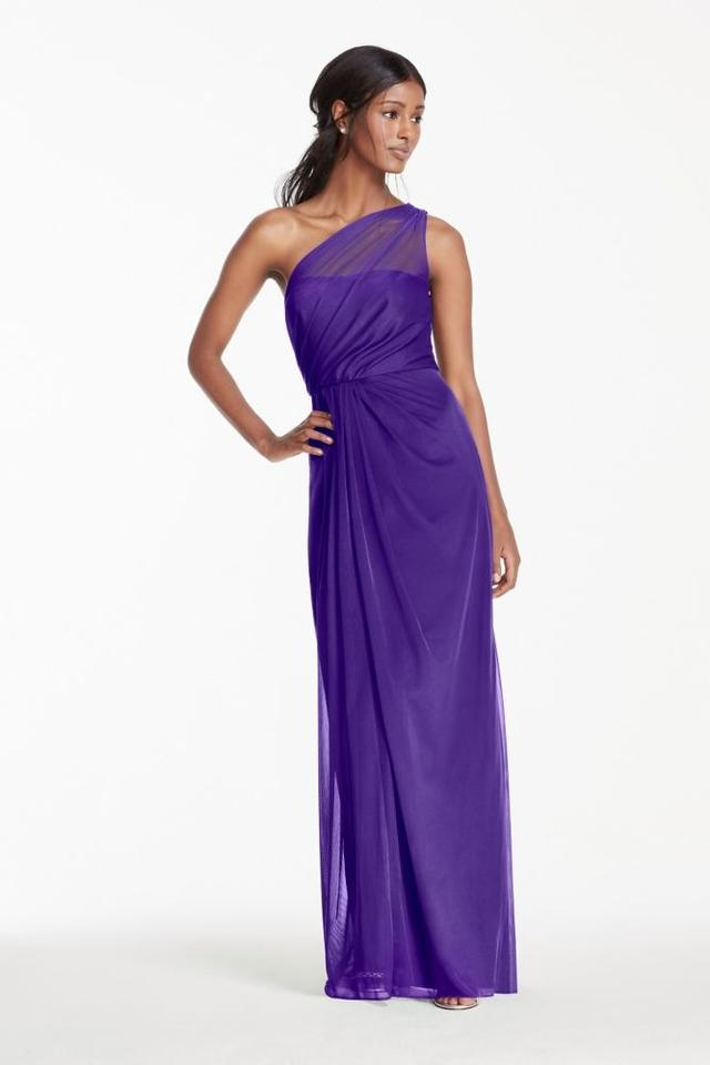 935813ea2c8 David s Bridal Regency (Purple) F15928 Formal Bridesmaid Mob Dress ...