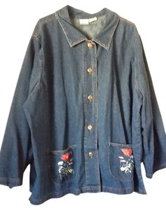 Blair Button Down Shirt Blue Jean