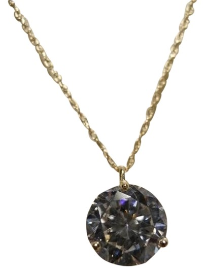 Preload https://item4.tradesy.com/images/10-kt-gold-cz-pendant-necklace-1240183-0-0.jpg?width=440&height=440