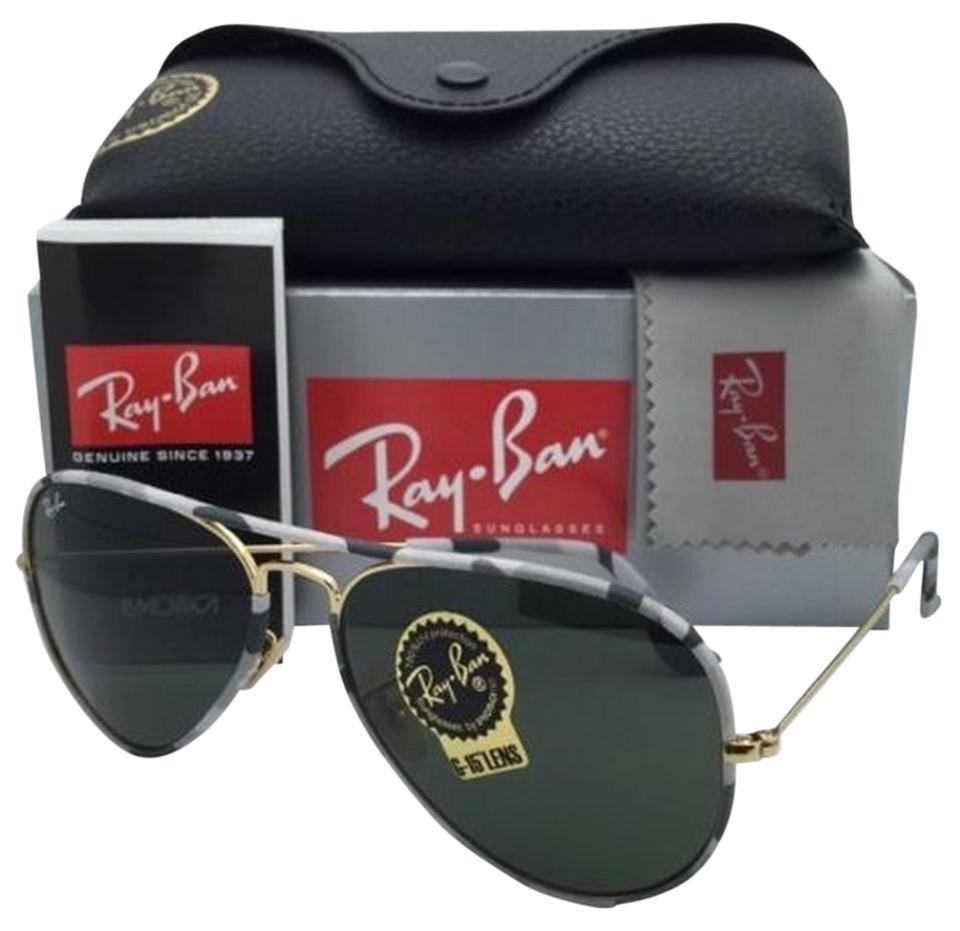 95a27004df5 Ray-Ban New RAY-BAN Sunglasses Aviator Full Color RB 3025-J-M 171 ...