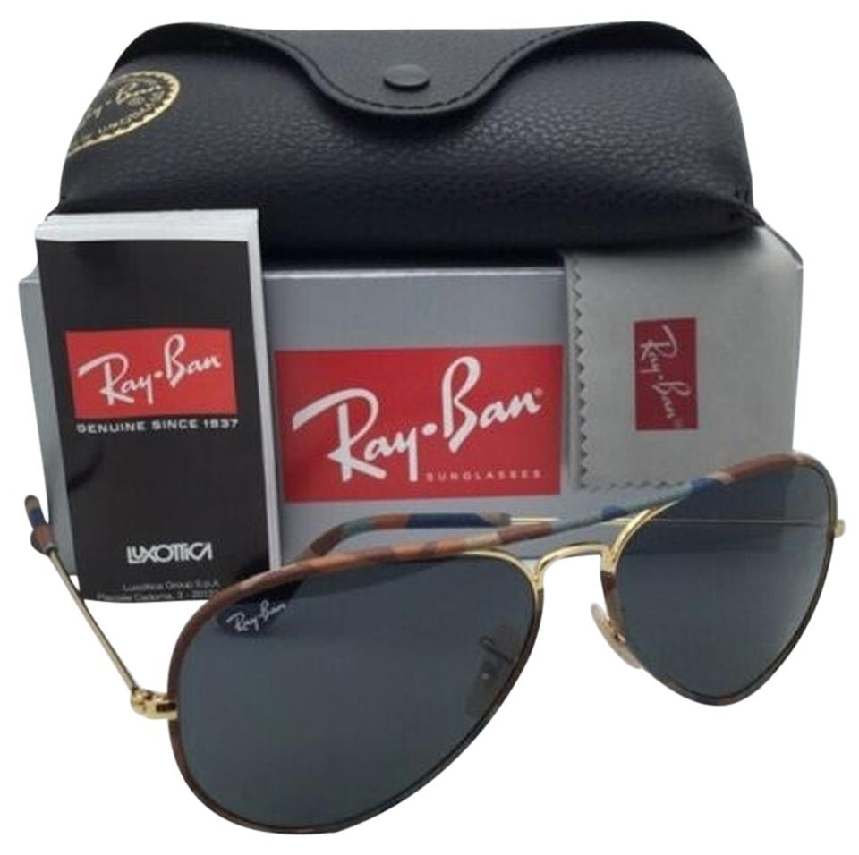 b8724abce0 Ray-Ban Rb 3025-j-m 170 R5 Multi-color Camouflage New Aviator Full ...