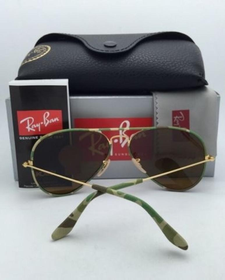 3b83bfe9dd Ray-ban Full Color Camouflage Aviator 58mm