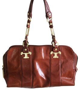 Tory Burch Leather Gold Shoulder Bag