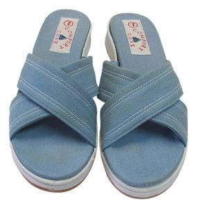 Comfort Cove Size 8.50 M (usa) New Excellent Condition Blue Sandals