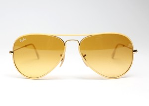 Ray-Ban Aviator RB 3025-J-M 001/X4 Yellow-Brown Gradient Lenses
