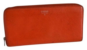 Fossil Fossil Sydney Leather Zip Around Wallet