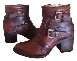 FreeBird By Steven Ankle Boot Cognac Boots